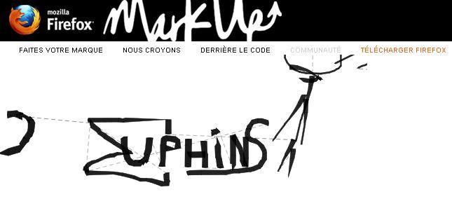 Mozilla MarkUp Muphins
